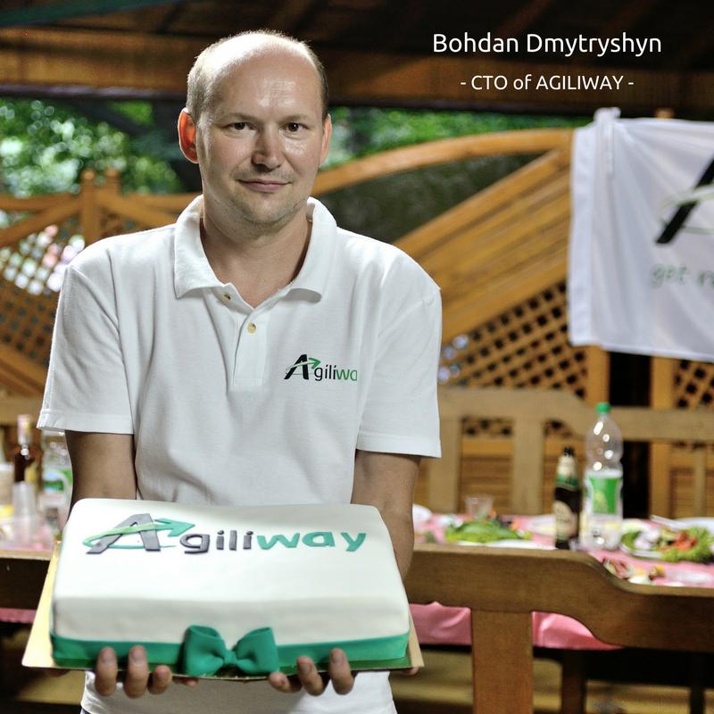 Bohdan Dmytryshyn, the Agiliway CTO