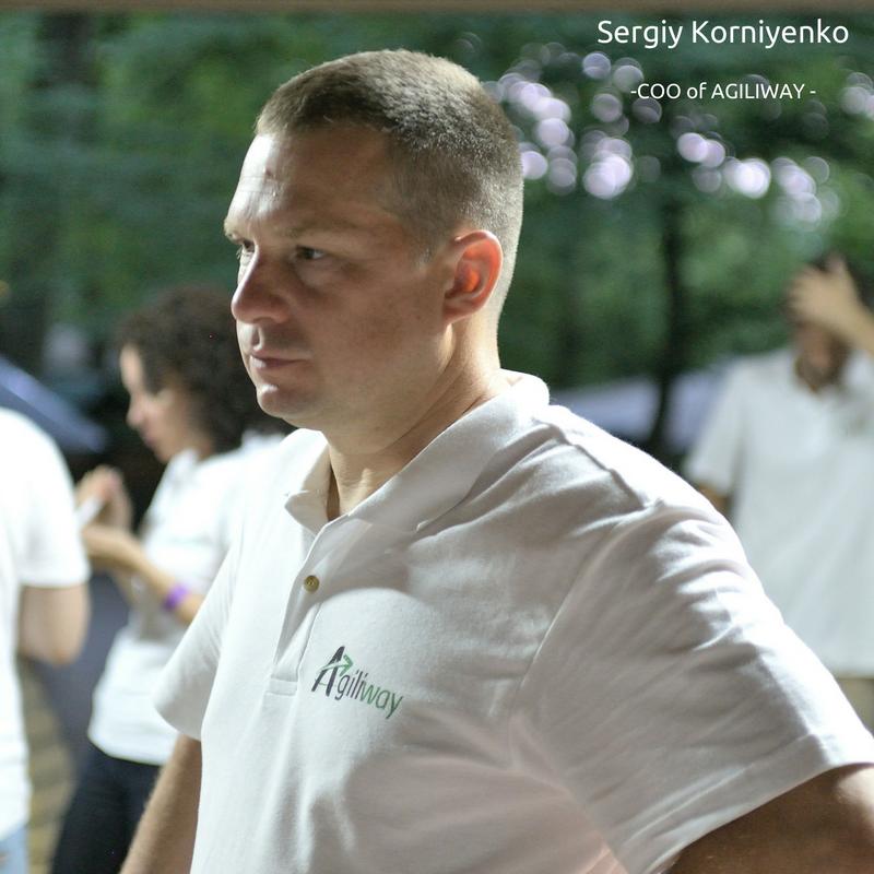 Sergiy Korniyenko, COO of Agiliway