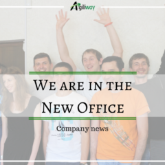 Company news: We are in the new office