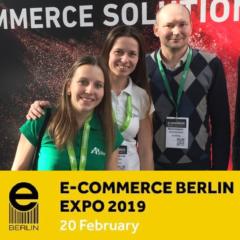 Agiliway Attending E-commerce Berlin Expo 2019