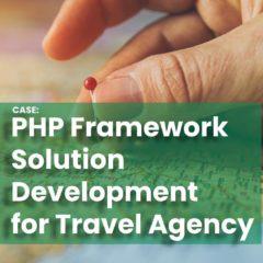 PHP Framework Solution Development for Travel Agency