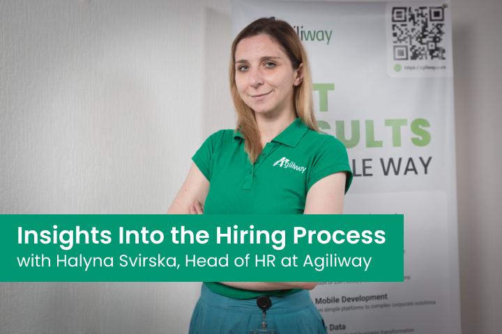 Halyna Svirska, Agilway